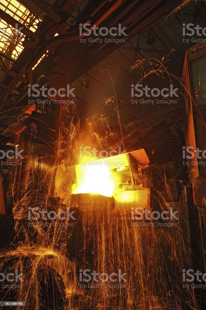 industrial safety in construction royalty-free stock photo