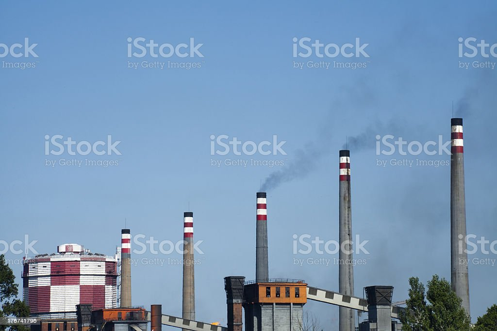 Industrial scape. royalty-free stock photo