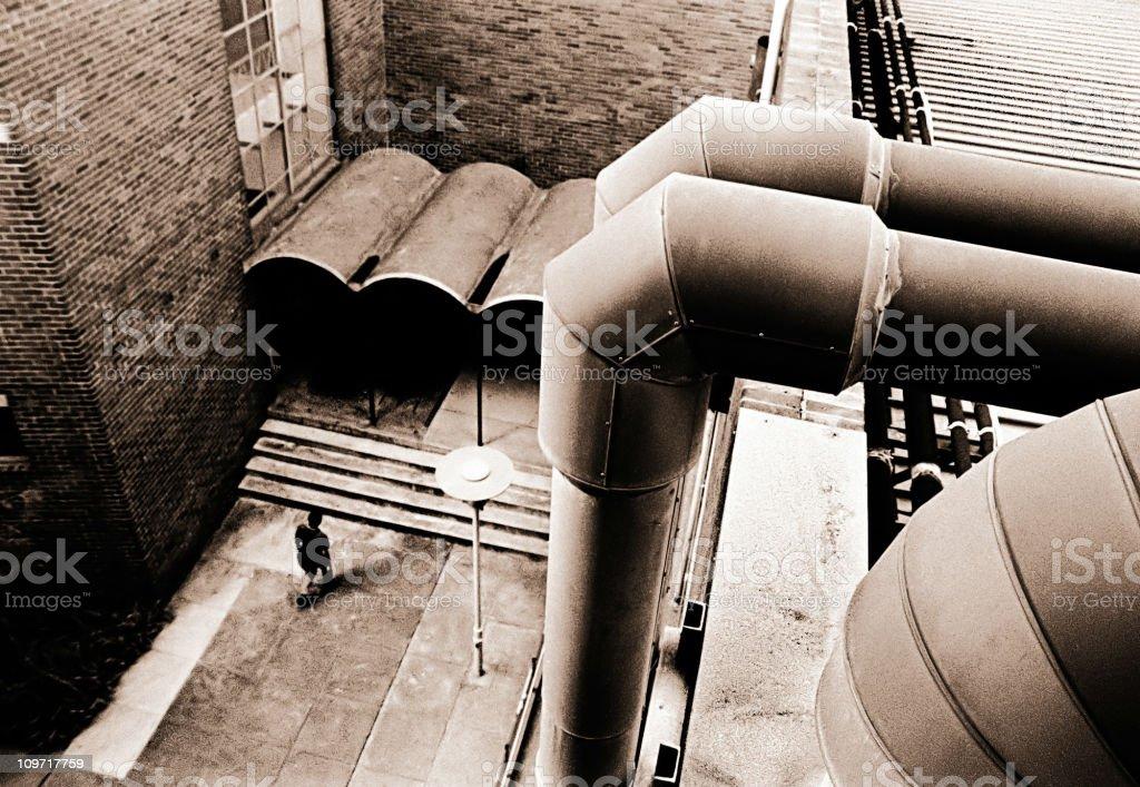 Industrial scene royalty-free stock photo