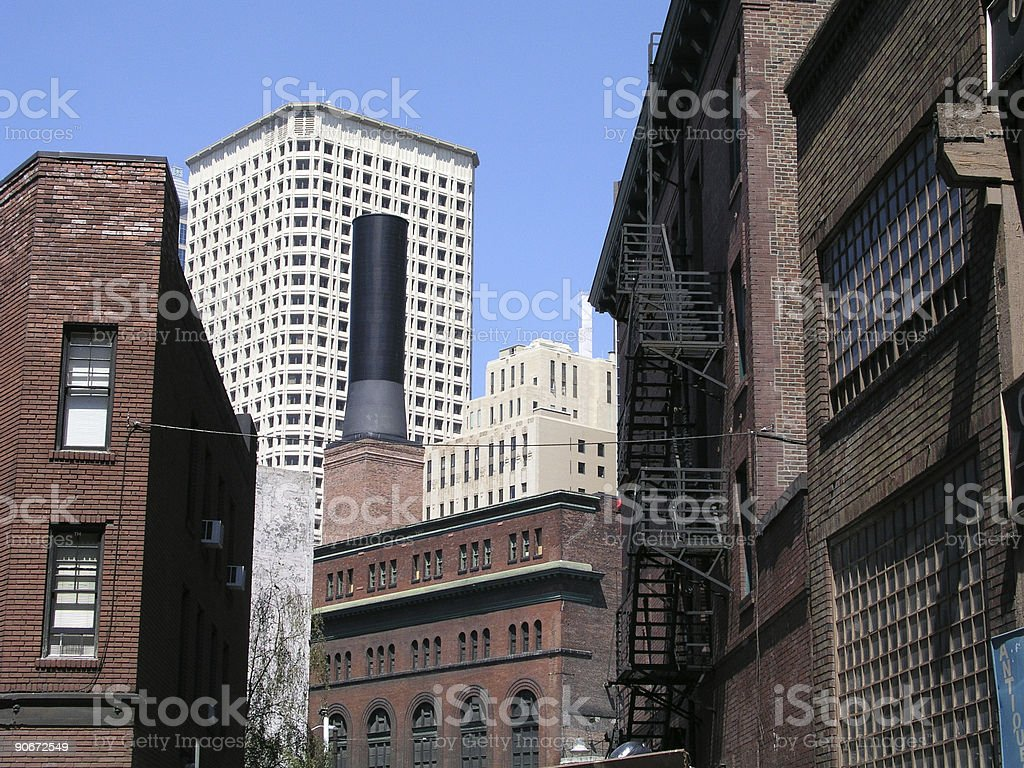Industrial Scene royalty-free stock photo