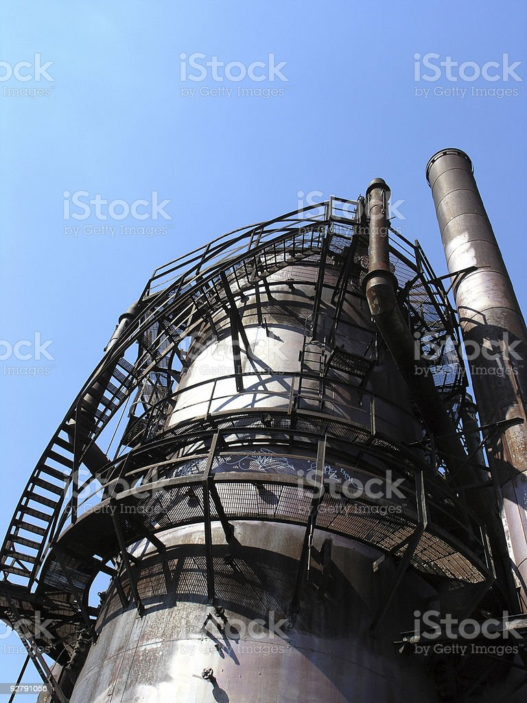 Industrial Shadows royalty-free stock photo