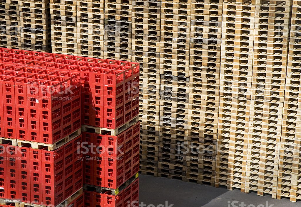 Industrial storage royalty-free stock photo