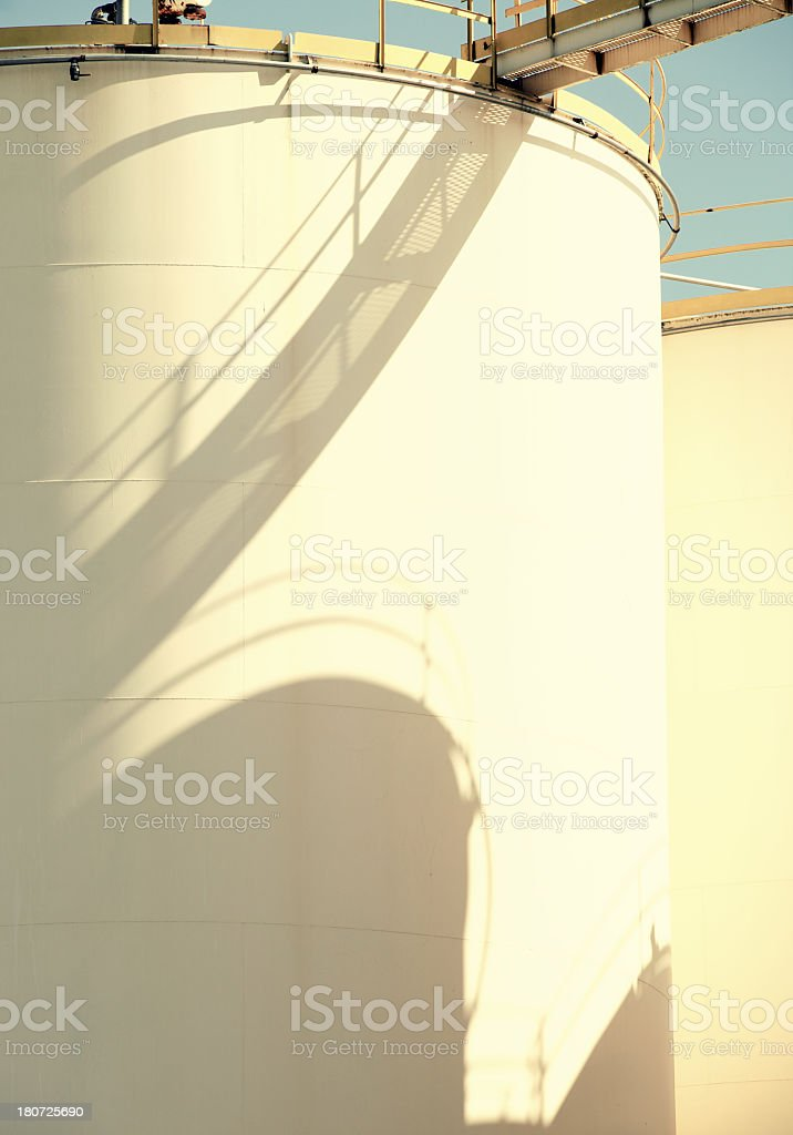 Industrial Storage Tank royalty-free stock photo