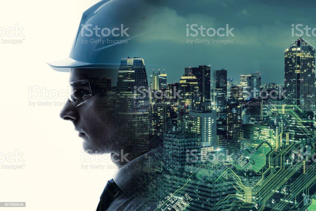 Industrietechnik-Konzept. INDUSTRY4.0 – Foto