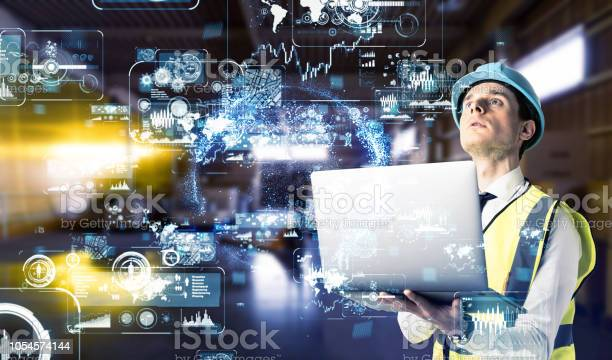 Industrial Technology Concept Stock Photo - Download Image Now
