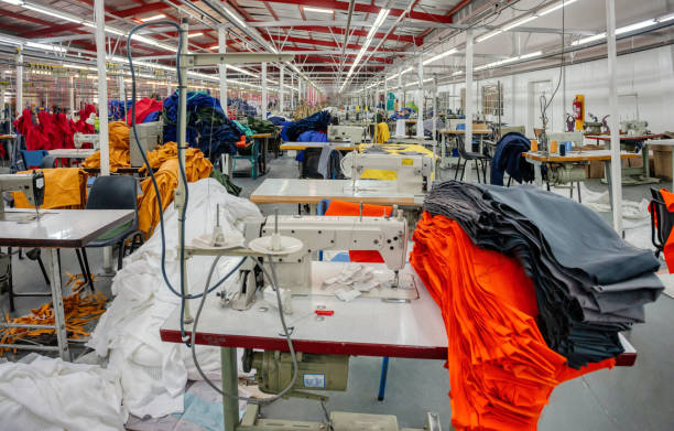 industrial textile factory