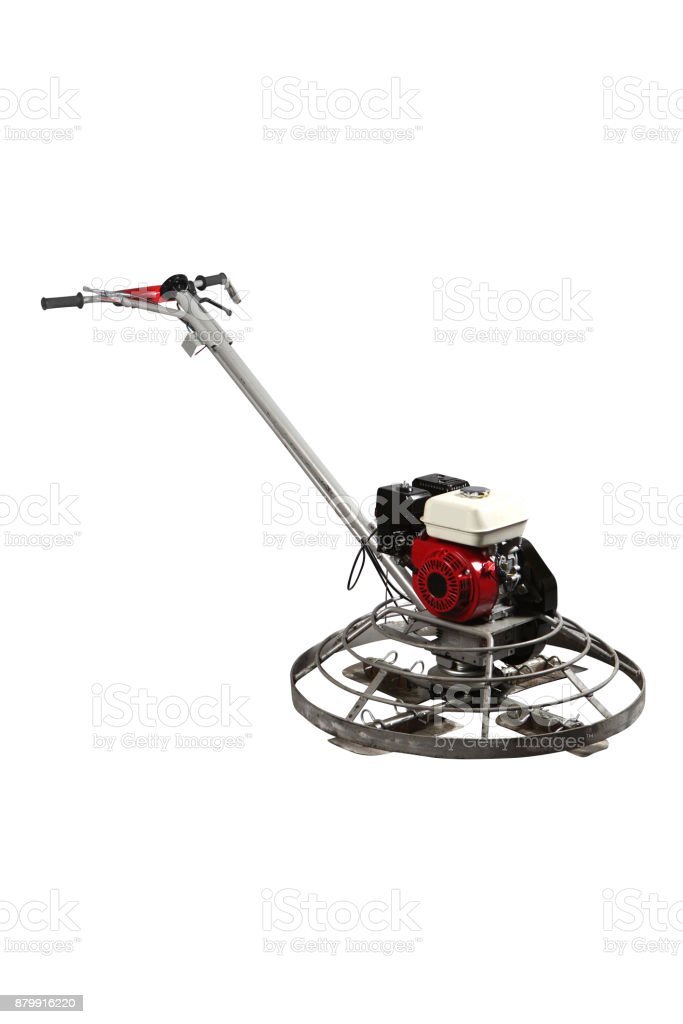Industrial tool for concrete  floor grinding. stock photo