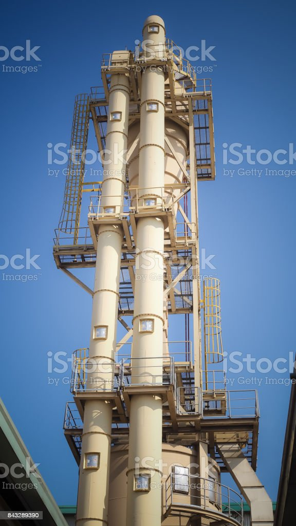 Industrial Tower System stock photo