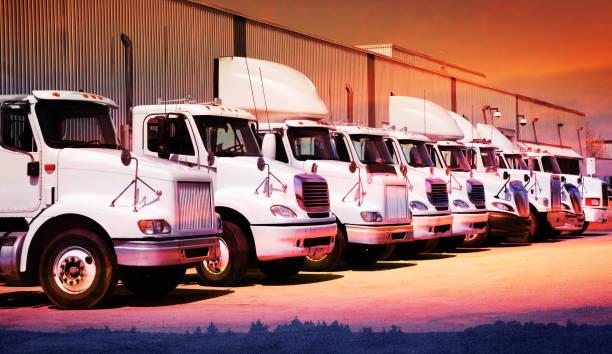 Industrie-LKW-Flotte – Foto