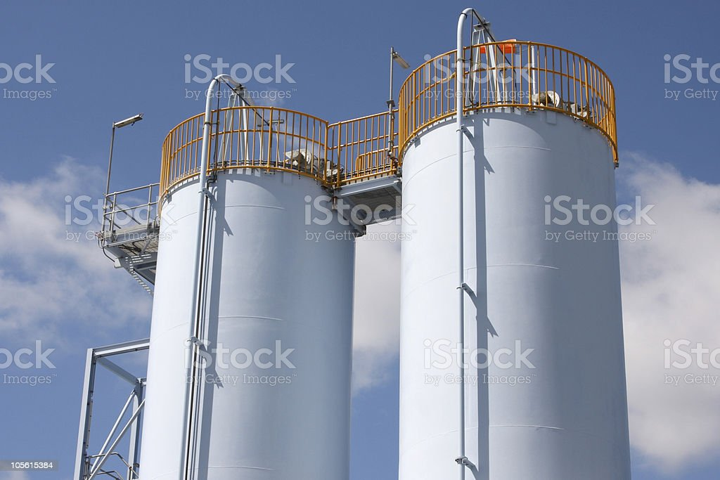 Industrial units royalty-free stock photo