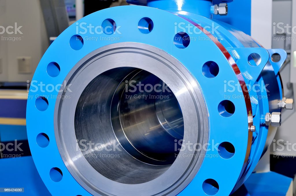 Industrial valve gate for pipelines royalty-free stock photo