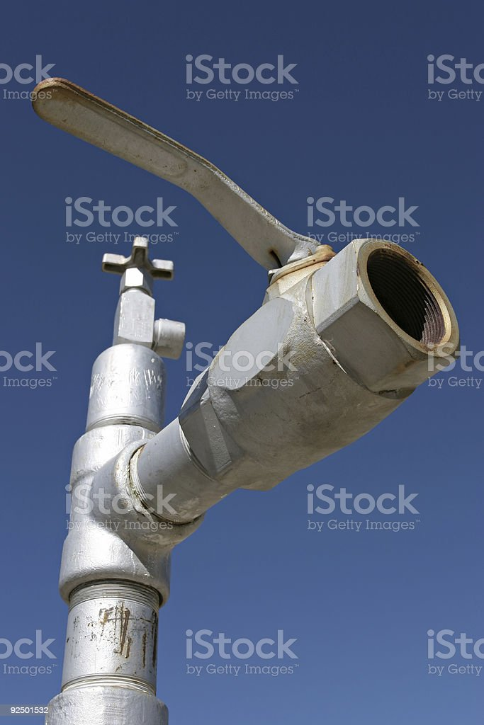 industrial valve royalty-free stock photo
