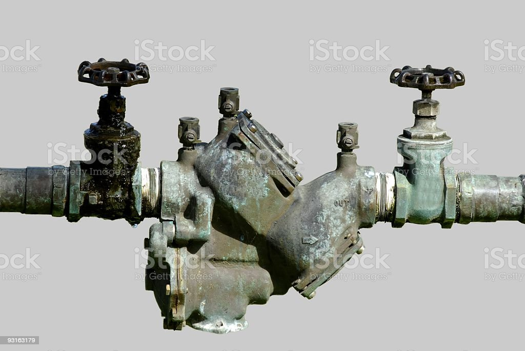 Industrial Valve (plumbing) royalty-free stock photo