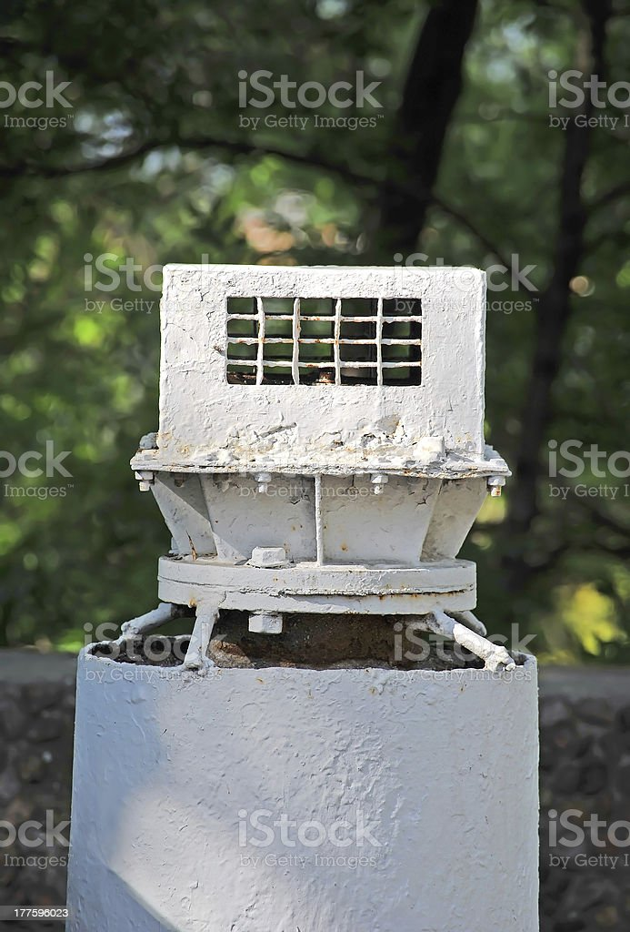 Industrial ventilation system royalty-free stock photo