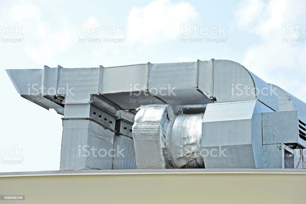 Industrial Ventilation System Stock Photo - Download Image