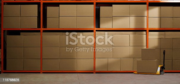 istock Industrial Warehouse 115768625