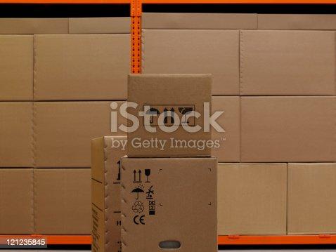 istock Industrial Warehouse 121235845