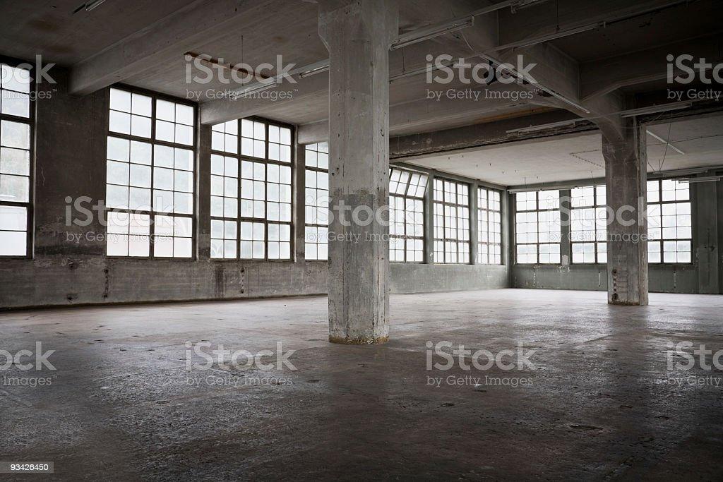 industrial warehouse stock photo