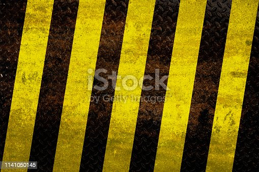 istock Industrial warning background 1141050145
