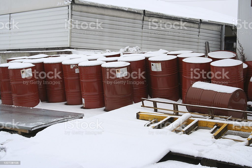 Industrial Waste royalty-free stock photo