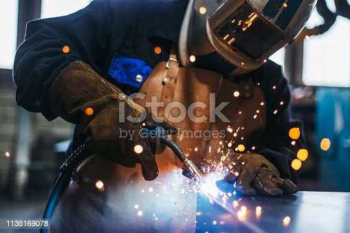 Industrial Welder With Torch