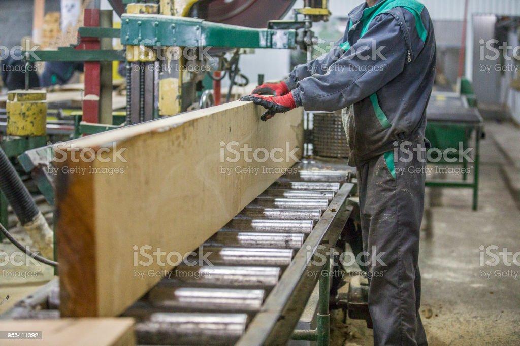 Industrial woodworking - Zbiór zdjęć royalty-free (Biznes finanse i przemysł)