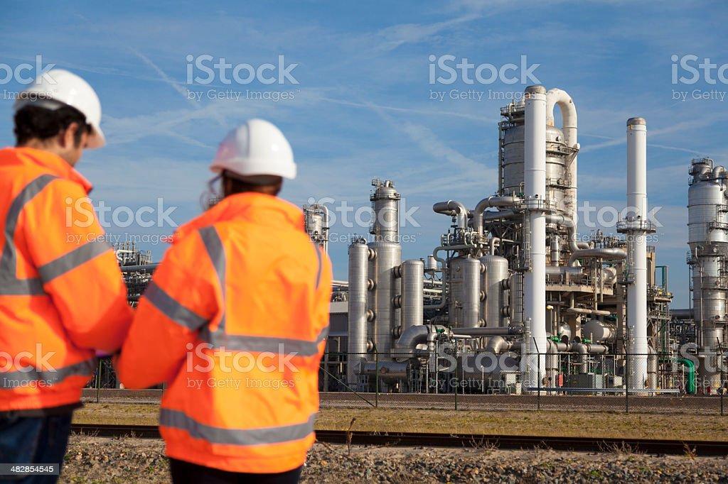 Industrial workers foto