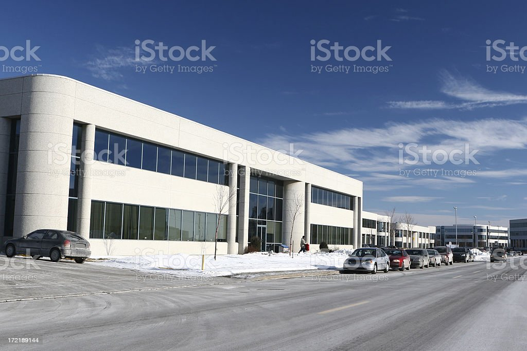Industrial Workplaces royalty-free stock photo