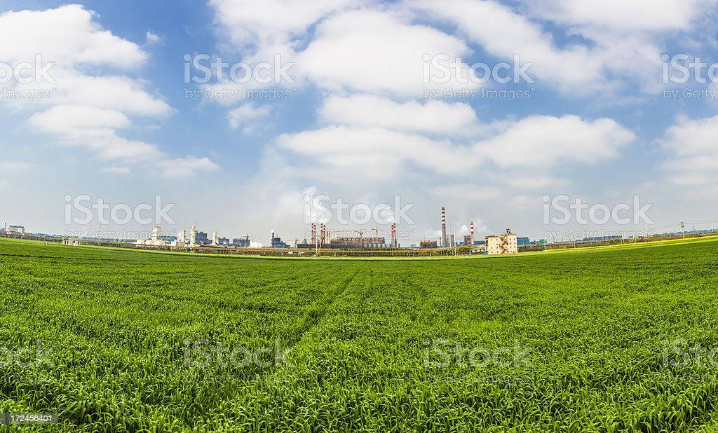 industrial zone royalty-free stock photo
