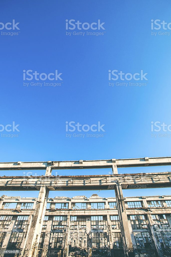Industrial zone. royalty-free stock photo