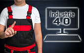 Industrie (in german industry) 4.0 and craftsman concept