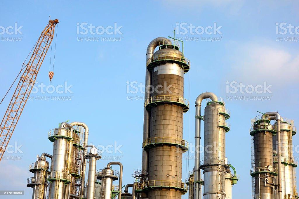 Industrieanlage stock photo
