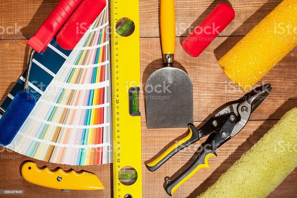 Industriual tools stock photo