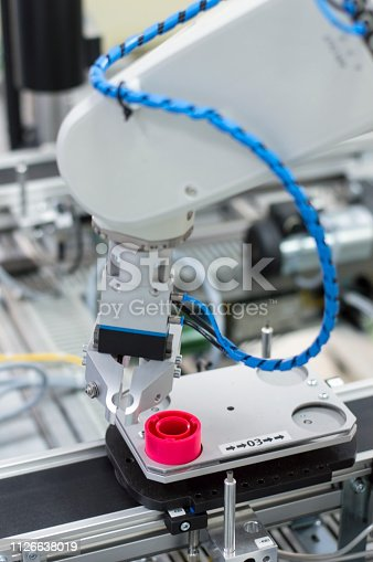 973144806 istock photo Industry 4.0 concept; artificial intelligence in smart factory. 1126638019