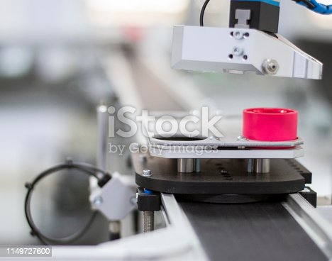 1167121815 istock photo Industry 4.0 concept; artificial intelligence in smart factory 1149727600