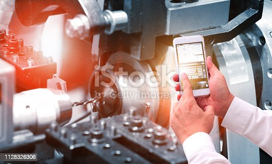 istock Industry 4.0 concept 1128326306
