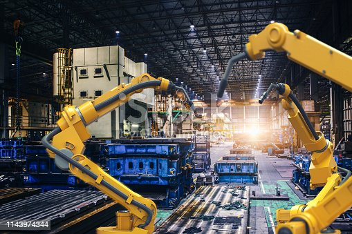 istock Industry 4.0 concept 1143974344