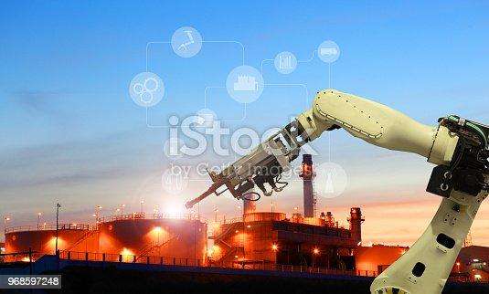 istock Industry 4.0 concept 968597248