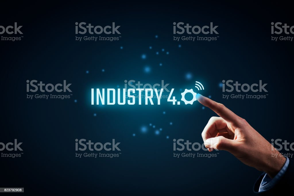 Industry 4.0 stock photo