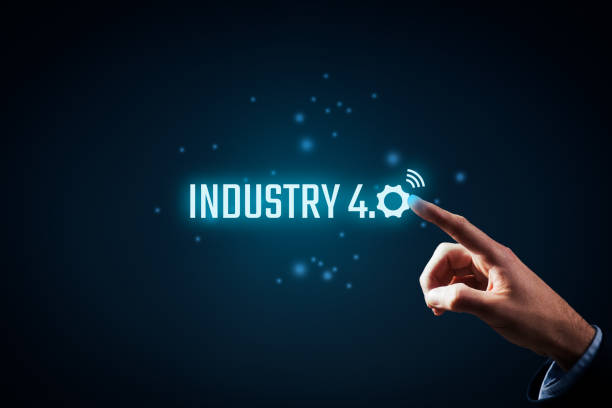 industry 4.0 - computer aided manufacturing stock photos and pictures