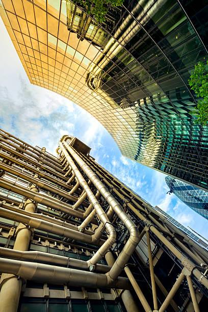 Industrie und finanziellen Gebäuden – Foto