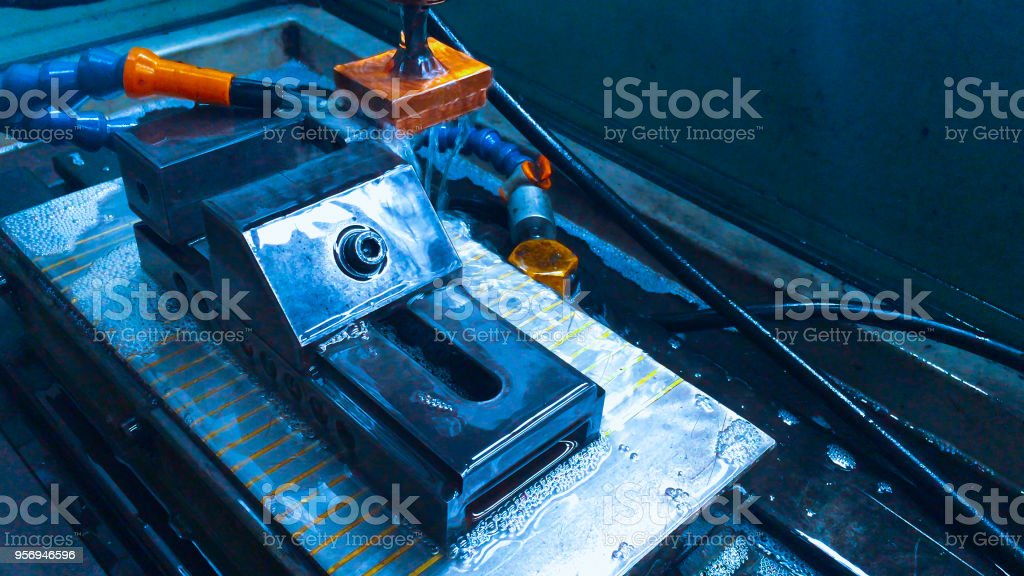 industry and metal work concept from copper electric welding tool...