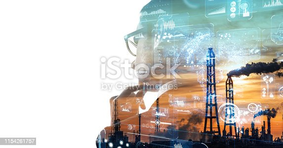 916376282 istock photo Industry and technology concept. INDUSTRY4.0 1154261757