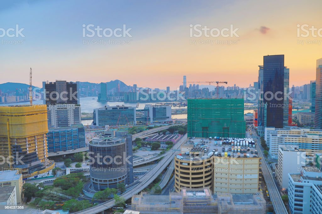 industry building, a Business Area kowloon bay - Royalty-free Asia Stock Photo