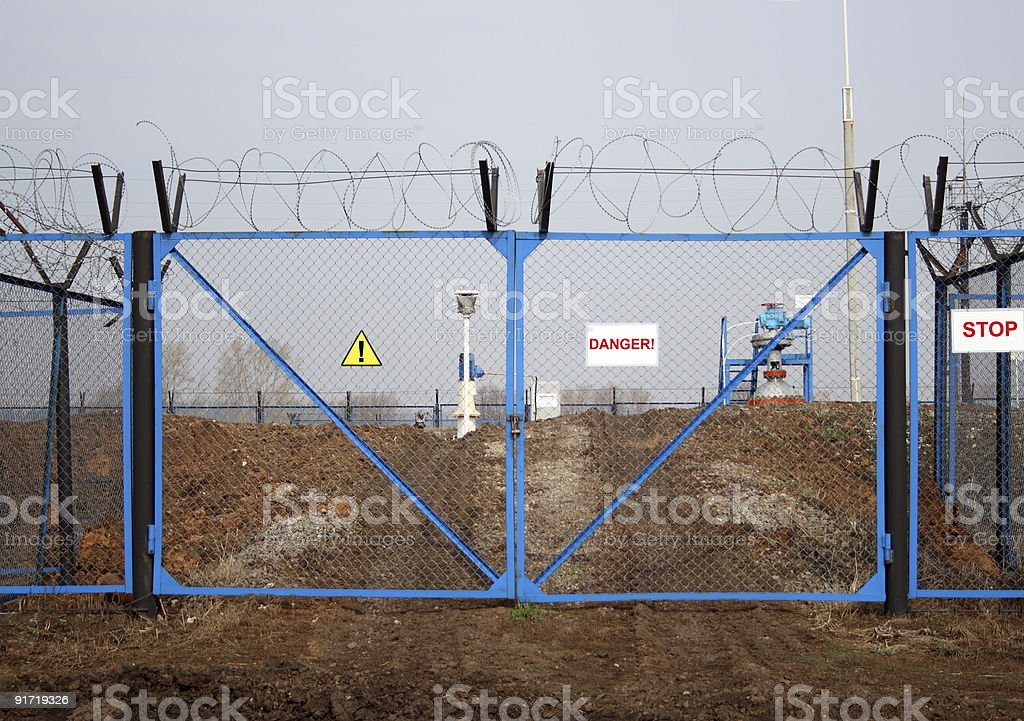 industry danger stock photo
