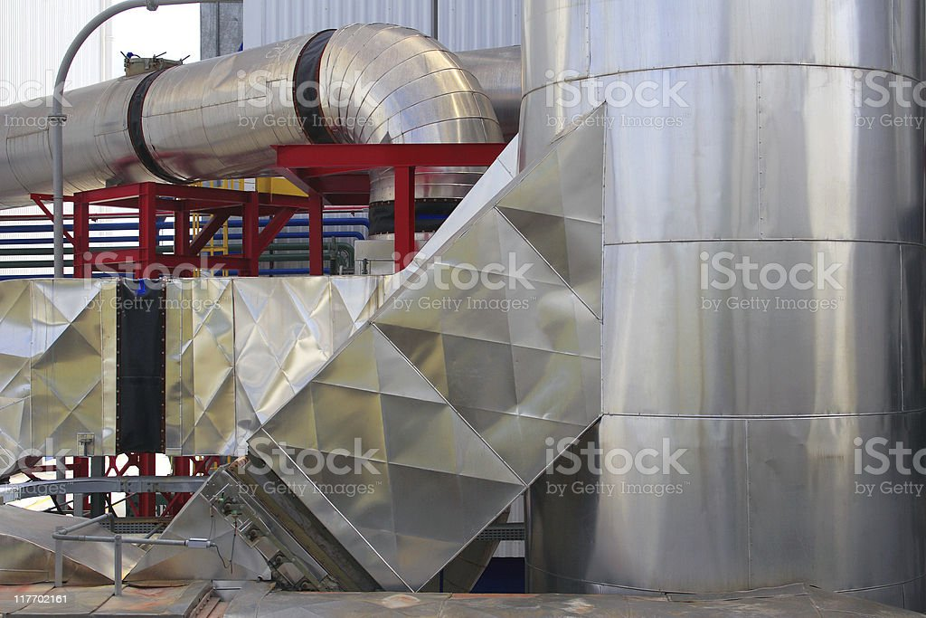 Industry detail royalty-free stock photo