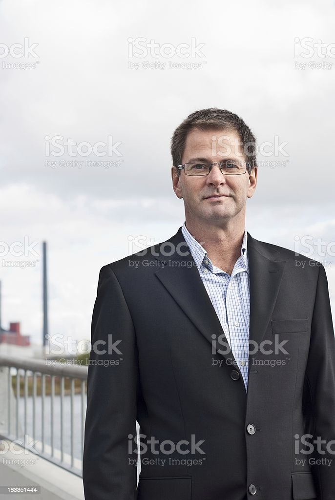 Industry executive royalty-free stock photo