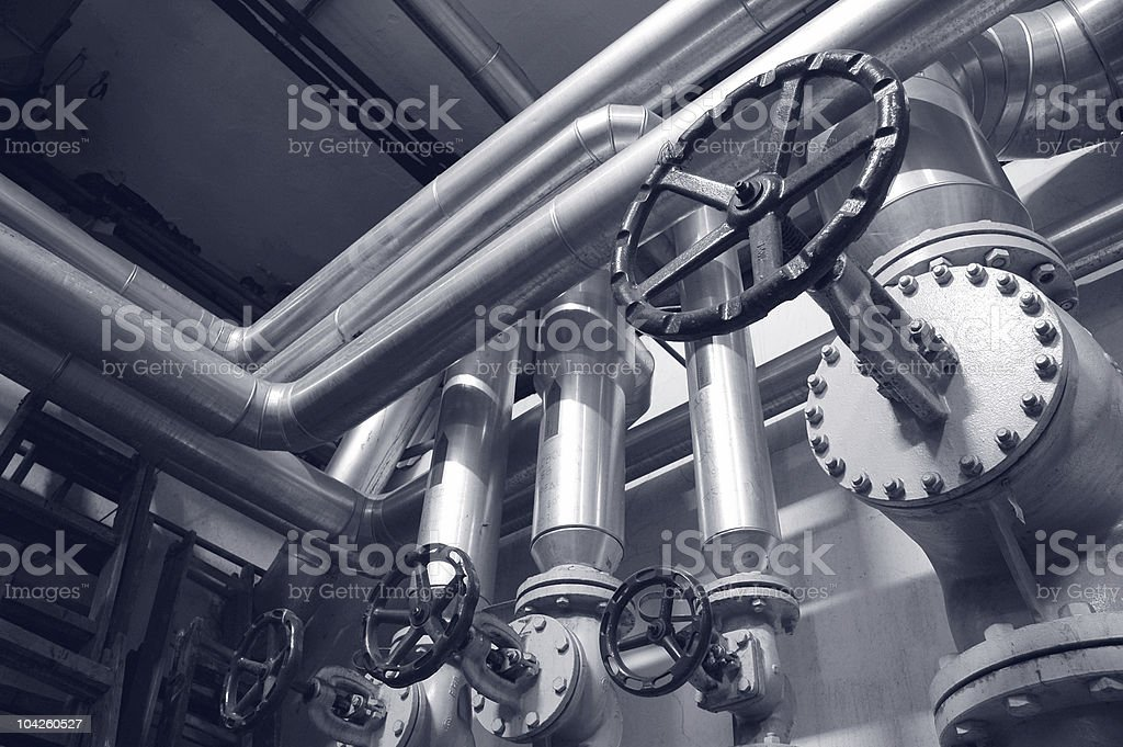 industry gas and oil pipes royalty-free stock photo