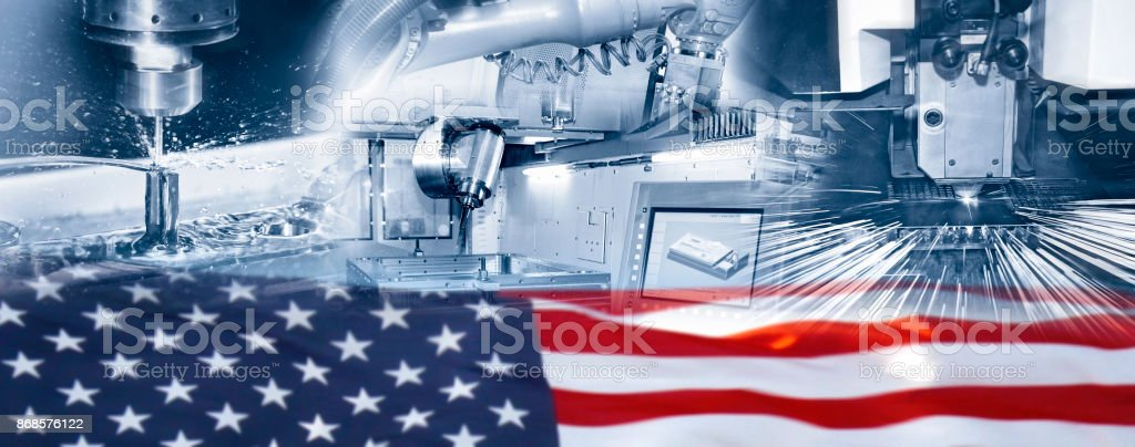 Industrie in den USA stock photo