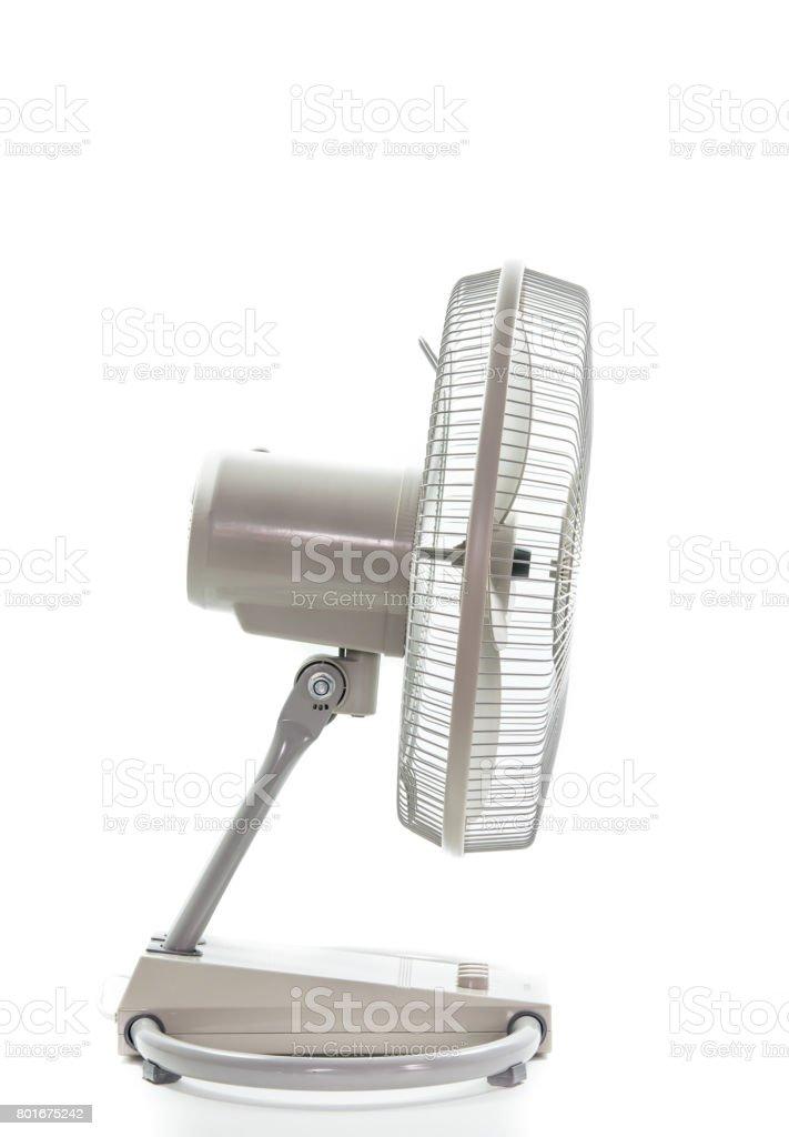 industry metal fan isolate stock photo